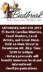 Budbreak Wine Festival