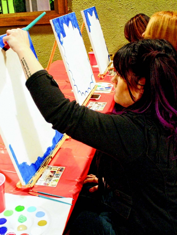 Vino & Van Gogh Classes Offer Creative Expression