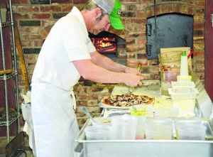 Pizza Showcase at winery on Sundays